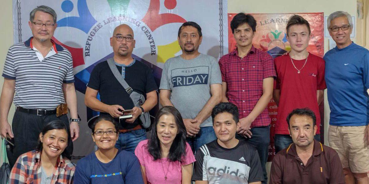 Visita del JRS Singapur a Bogor para apoyar el Proyecto LEARN.
